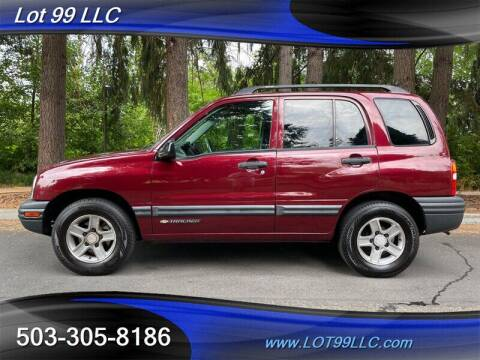 2003 Chevrolet Tracker for sale at LOT 99 LLC in Milwaukie OR