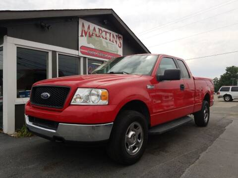 2005 Ford F-150 for sale at Martins Auto Sales in Shelbyville KY