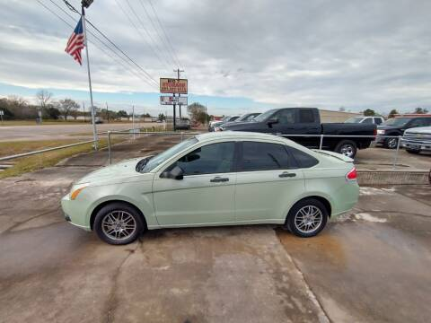 2011 Ford Focus for sale at BIG 7 USED CARS INC in League City TX