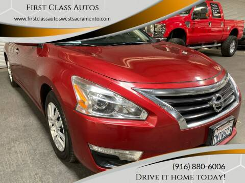2015 Nissan Altima for sale at Car Source Center in West Sacramento CA