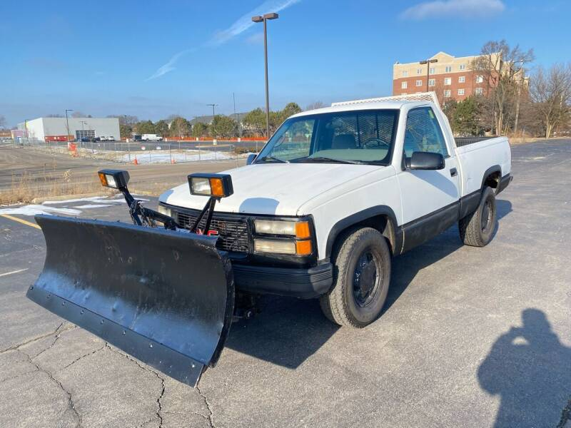 1996 GMC Sierra 1500 for sale at Siglers Auto Center in Skokie IL