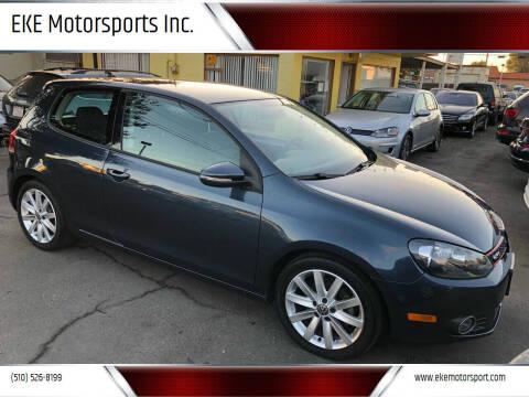 2011 Volkswagen Golf for sale at EKE Motorsports Inc. in El Cerrito CA