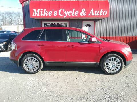 2010 Ford Edge for sale at MIKE'S CYCLE & AUTO in Connersville IN