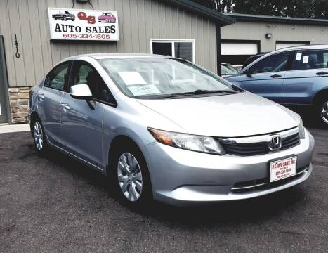 2012 Honda Civic for sale at QS Auto Sales in Sioux Falls SD