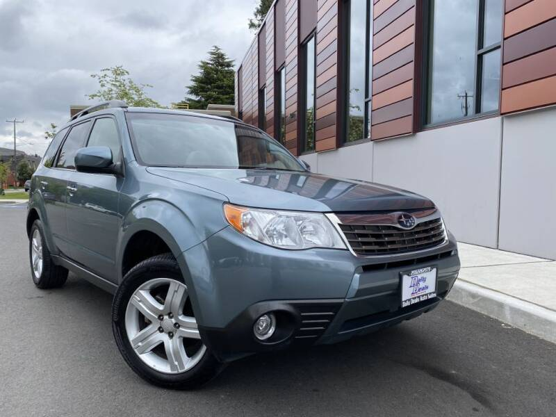 2009 Subaru Forester for sale at DAILY DEALS AUTO SALES in Seattle WA