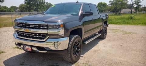 2016 Chevrolet Silverado 1500 for sale at LA PULGA DE AUTOS in Dallas TX