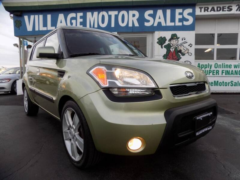 2010 Kia Soul for sale at Village Motor Sales in Buffalo NY