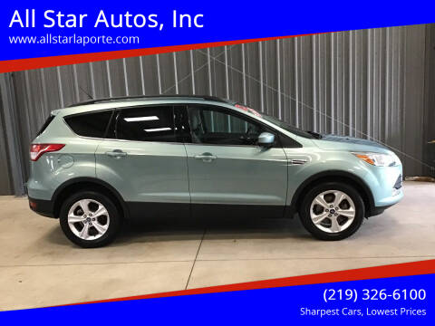 2013 Ford Escape for sale at All Star Autos, Inc in La Porte IN