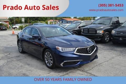2019 Acura TLX for sale at Prado Auto Sales in Miami FL