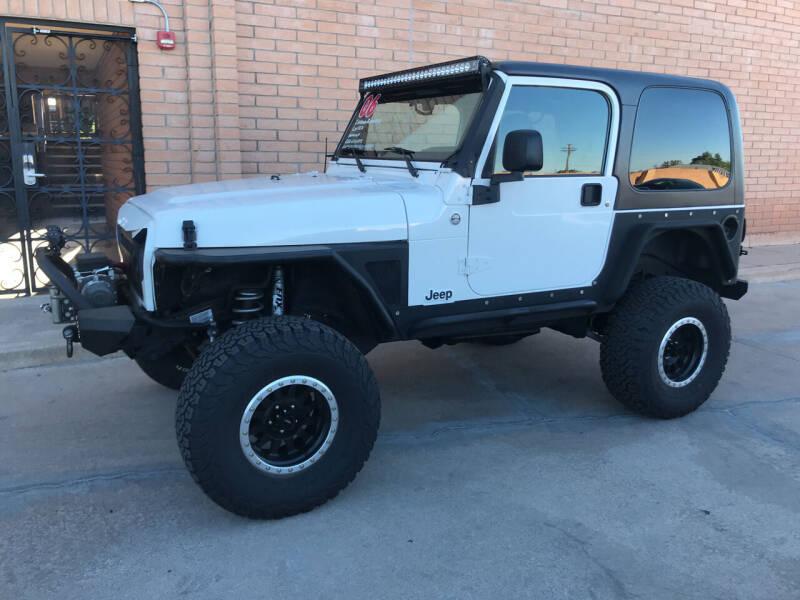 2006 Jeep Wrangler for sale at Freedom  Automotive in Sierra Vista AZ