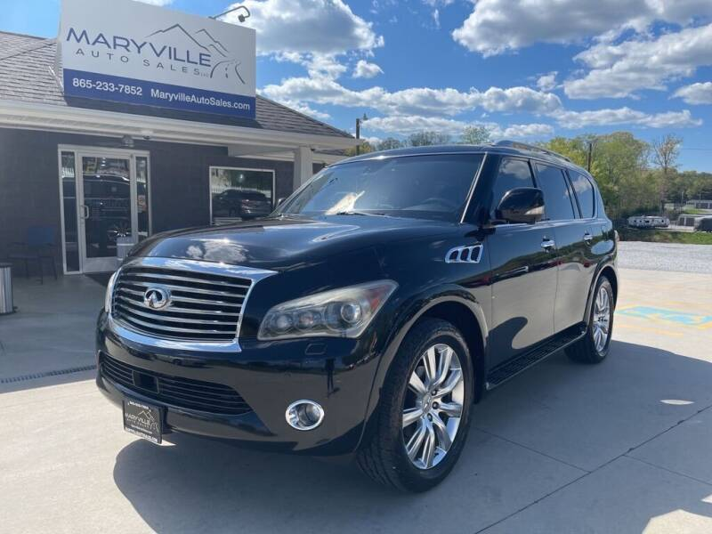2012 Infiniti QX56 for sale at Maryville Auto Sales in Maryville TN