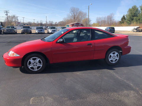 2000 Chevrolet Cavalier for sale at Thunder Auto Sales in Springfield IL