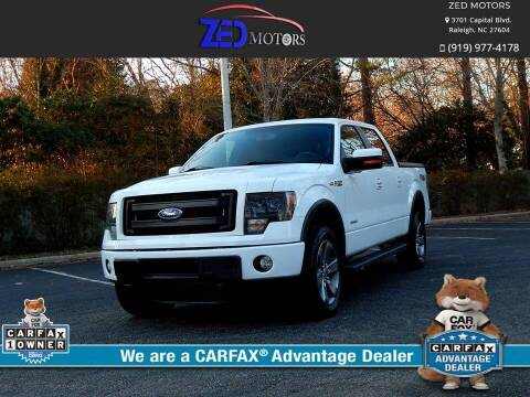 2014 Ford F-150 for sale at Zed Motors in Raleigh NC