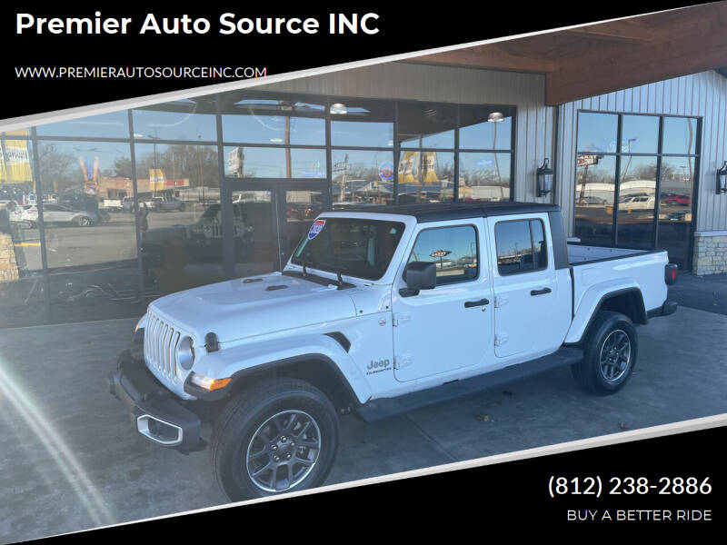 2020 Jeep Gladiator for sale at Premier Auto Source INC in Terre Haute IN