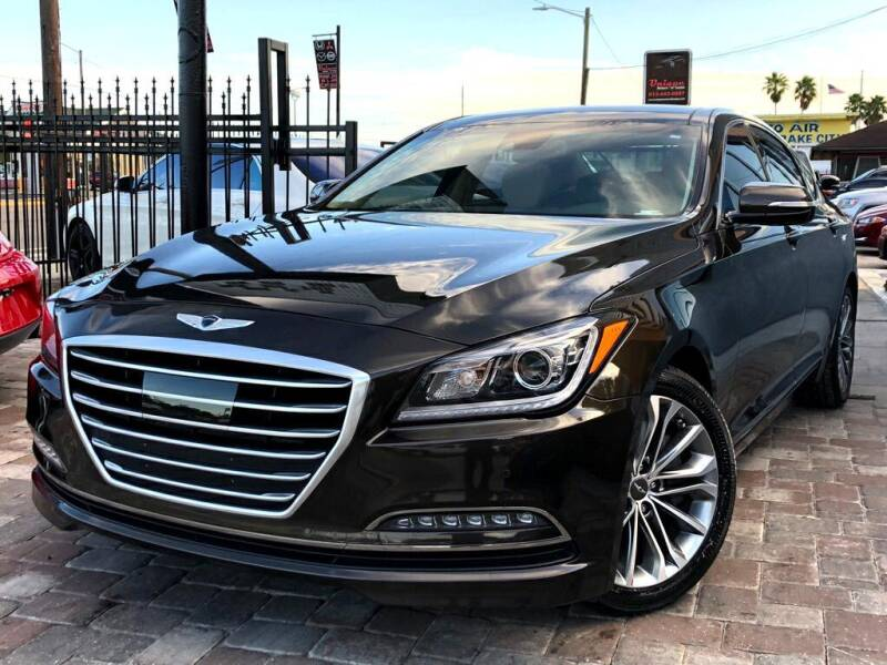 2017 Genesis G80 for sale at Unique Motors of Tampa in Tampa FL