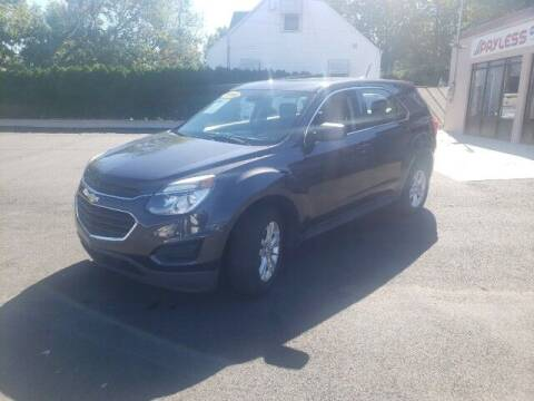 2016 Chevrolet Equinox for sale at PAYLESS CAR SALES of South Amboy in South Amboy NJ