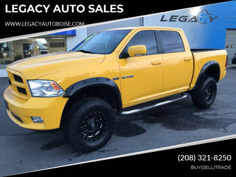 2009 Dodge Ram Pickup 1500 for sale at LEGACY AUTO SALES in Boise ID
