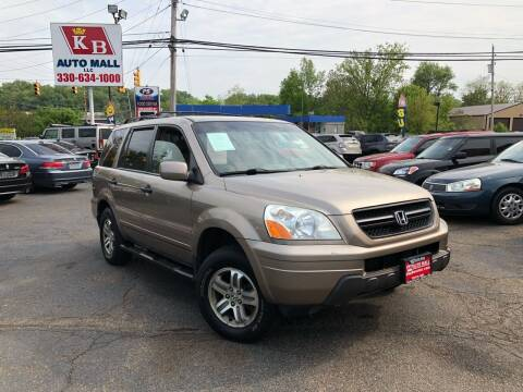 2003 Honda Pilot for sale at KB Auto Mall LLC in Akron OH
