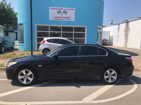 2008 BMW 5 Series for sale at Finish Line Motors in Tulsa OK