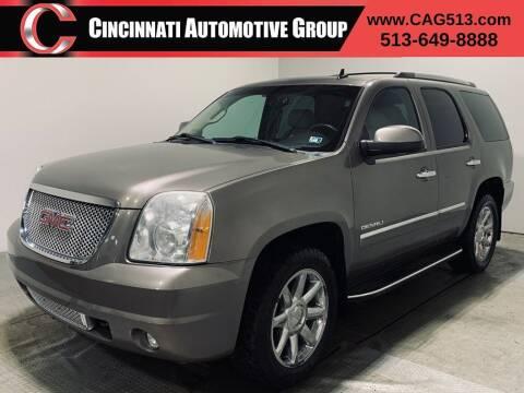 2012 GMC Yukon for sale at Cincinnati Automotive Group in Lebanon OH