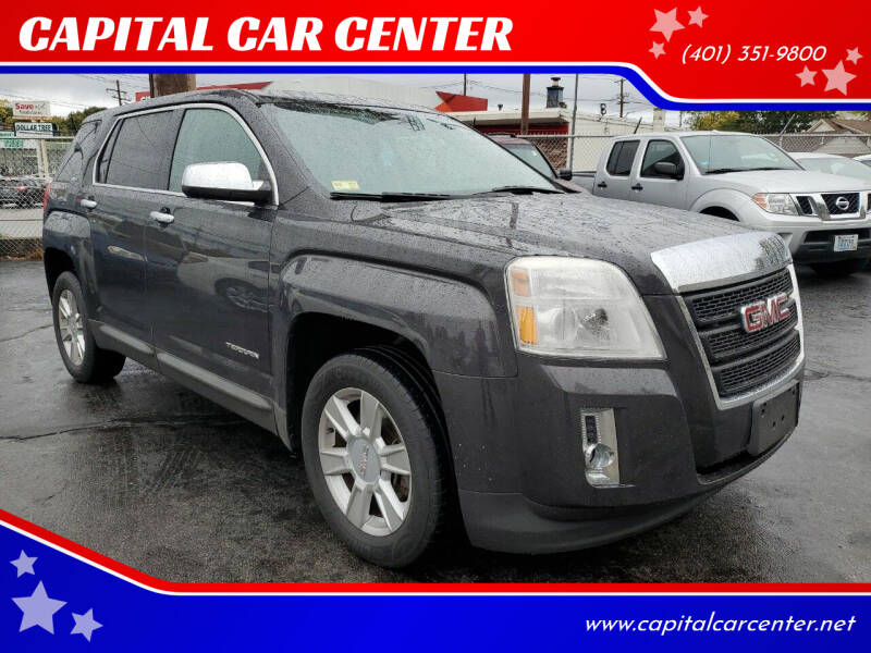 2013 GMC Terrain for sale at CAPITAL CAR CENTER in Providence RI