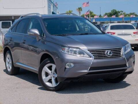 2013 Lexus RX 350 for sale at JumboAutoGroup.com in Hollywood FL
