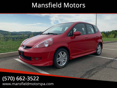 2007 Honda Fit for sale at Mansfield Motors in Mansfield PA