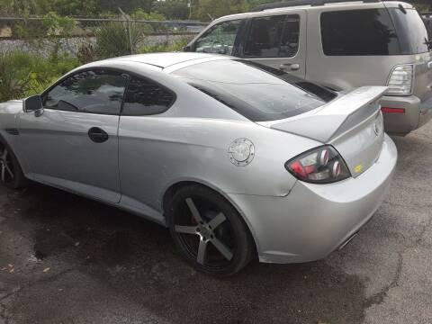 2008 Hyundai Tiburon for sale at Easy Credit Auto Sales in Cocoa FL