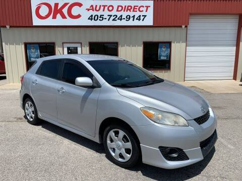 2010 Toyota Matrix for sale at OKC Auto Direct in Oklahoma City OK