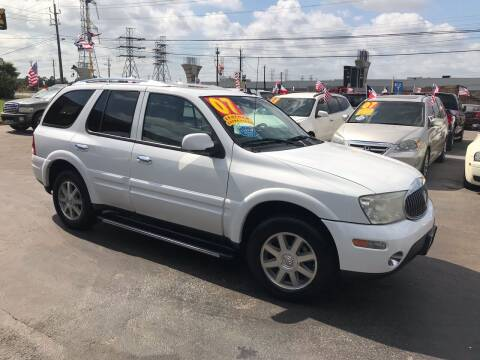 2007 Buick Rainier for sale at Texas 1 Auto Finance in Kemah TX