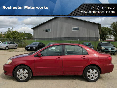 2007 Toyota Corolla for sale at Rochester Motorworks in Rochester MN