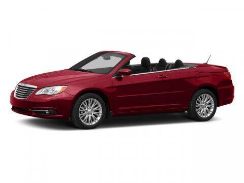 2013 Chrysler 200 Convertible for sale at Auto Finance of Raleigh in Raleigh NC