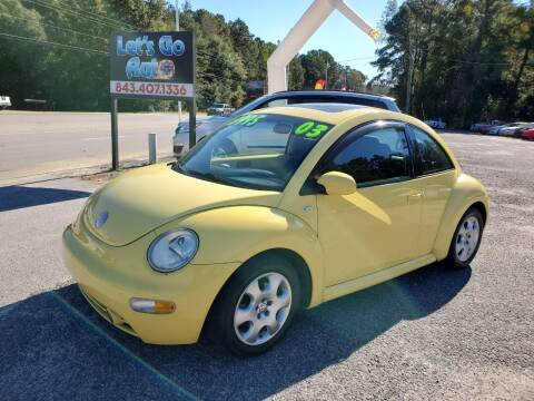 2003 Volkswagen New Beetle for sale at Let's Go Auto in Florence SC