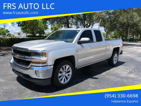 2016 Chevrolet Silverado 1500 for sale at FRS AUTO LLC in West Palm Beach FL