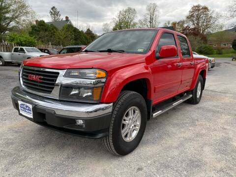 2012 GMC Canyon for sale at SETTLE'S CARS & TRUCKS in Flint Hill VA
