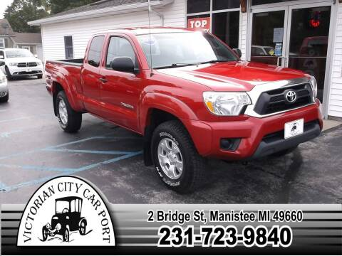 2013 Toyota Tacoma for sale at Victorian City Car Port INC in Manistee MI
