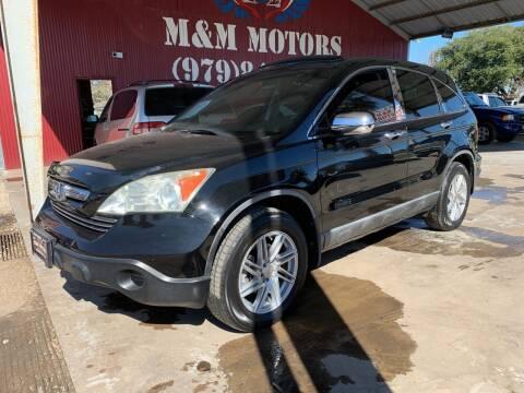 2009 Honda CR-V for sale at M & M Motors in Angleton TX