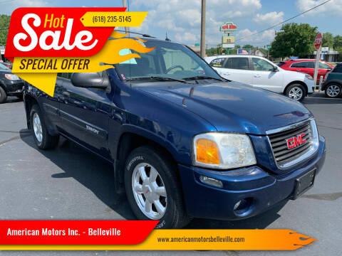 2004 GMC Envoy for sale at American Motors Inc. - Belleville in Belleville IL