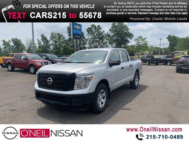2017 Nissan Titan for sale in Warminster, PA