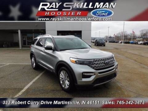 2020 Ford Explorer for sale at Ray Skillman Hoosier Ford in Martinsville IN