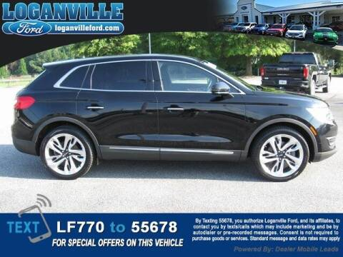 2016 Lincoln MKX for sale at Loganville Ford in Loganville GA