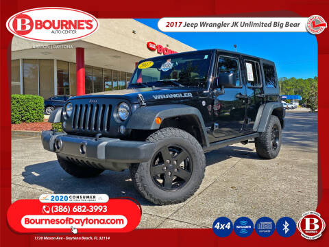 2017 Jeep Wrangler Unlimited for sale at Bourne's Auto Center in Daytona Beach FL