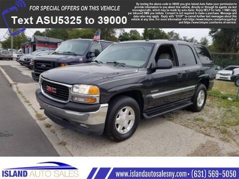 2005 GMC Yukon for sale at Island Auto Sales in E.Patchogue NY