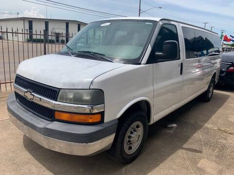 2007 Chevrolet Express Passenger for sale at Sima Auto Sales in Dallas TX
