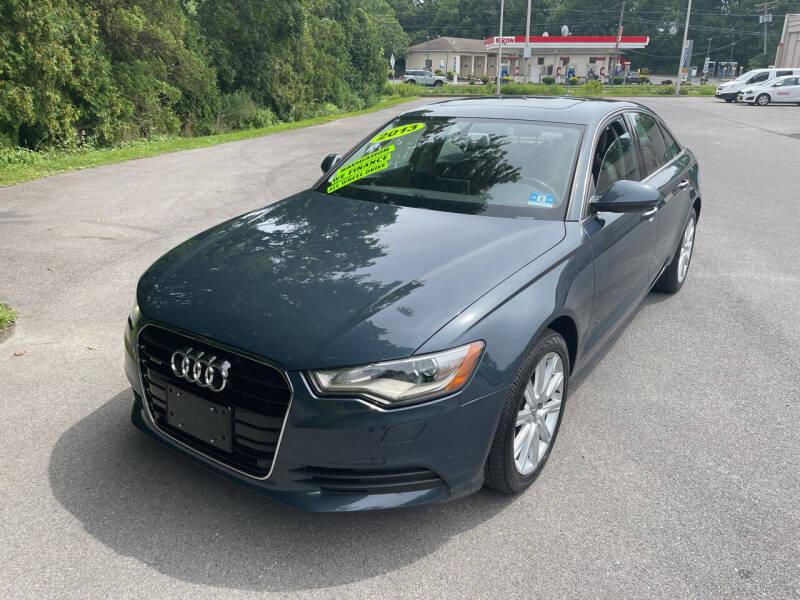 2013 Audi A6 for sale at Washington Auto Repair in Washington NJ