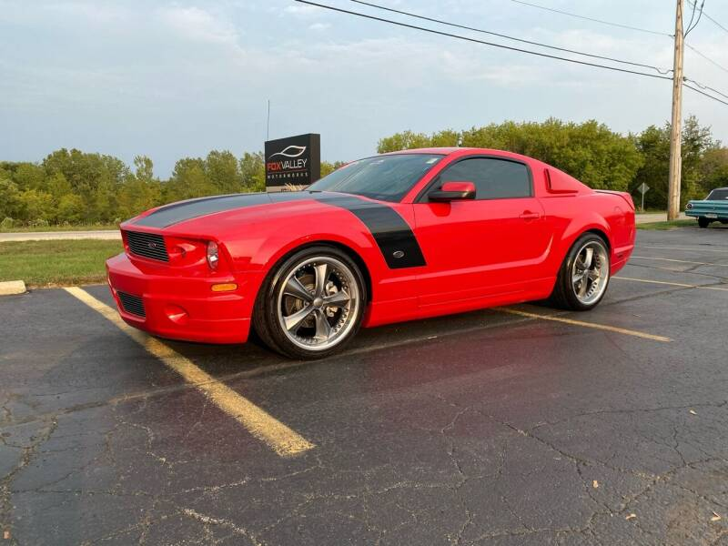2007 Ford Mustang for sale at Fox Valley Motorworks in Lake In The Hills IL