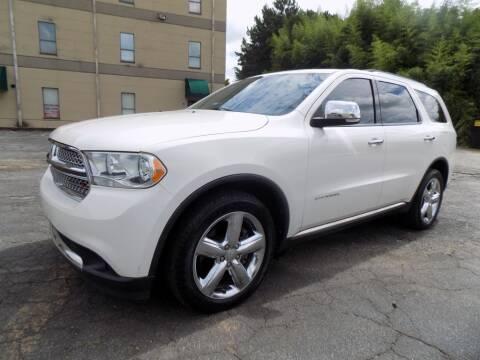 2012 Dodge Durango for sale at S.S. Motors LLC in Dallas GA