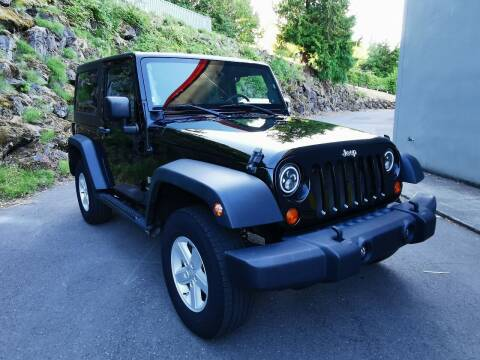 2008 Jeep Wrangler for sale at Legacy Auto Sales LLC in Seattle WA