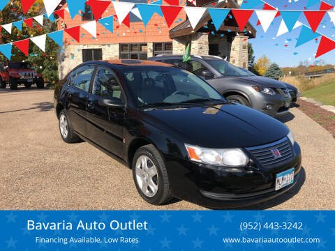 2007 Saturn Ion for sale at Bavaria Auto Outlet in Victoria MN