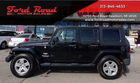 2010 Jeep Wrangler Unlimited for sale at Ford Road Motor Sales in Dearborn MI